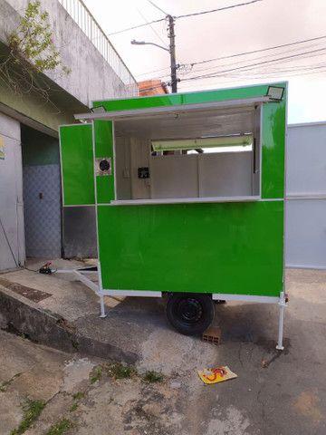 VENDO / PASSO TRAILER NOVO, EM TÉRMINO DE CONSTRUÇÃO.