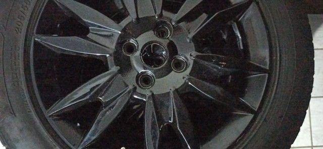 Rodas aro 16 com pneus - Foto 4