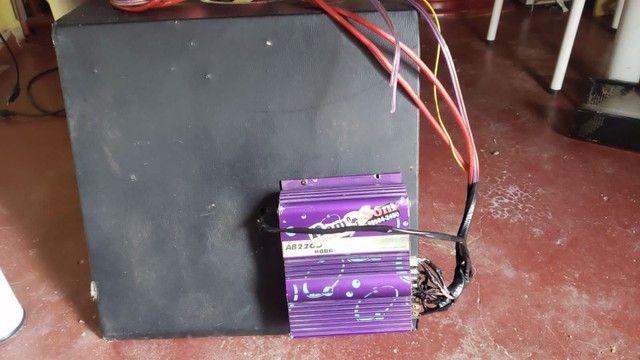 Caixa de som com módulo 2300 wats - Foto 3