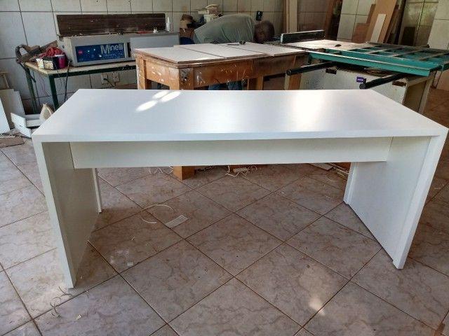 Mesa para escritório fabricação própria - Foto 3