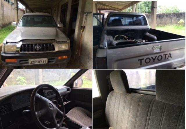 Toyota Hilux 2002 3.0 SR Turbo