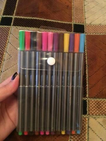 Conjunto 24 canetas 0.4mm macias