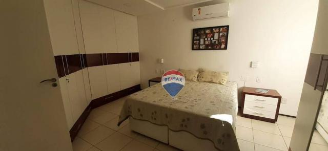 Apartamento duplex com 4 dormitórios à venda, 143 m² por r$ 395.000 - papicu - fortaleza/c