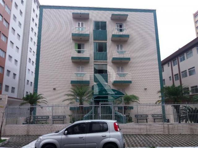 Apartamento com 1 dormitório para alugar, 46 m² por r$ 1.150/mês - tupi - praia grande/sp