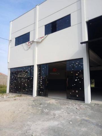 Galpão para alugar, 313 m² por r$ 3.500,00/mês - itajuba - barra velha/sc - Foto 2