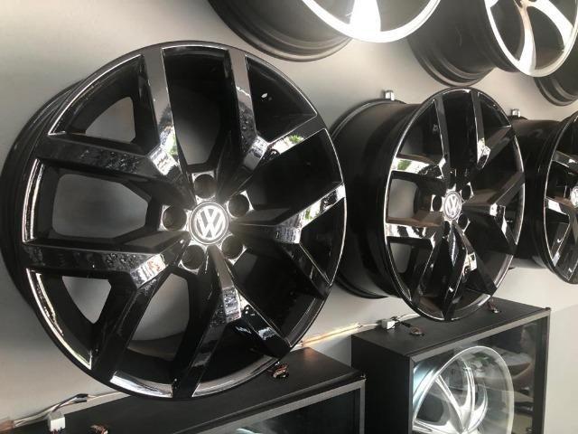 Rodas Aro 20 Amarok V6 Black Piano - Foto 2