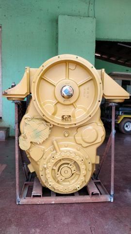 Transmissão Motoniveladora Patrol Caterpillar 120H - Foto 2