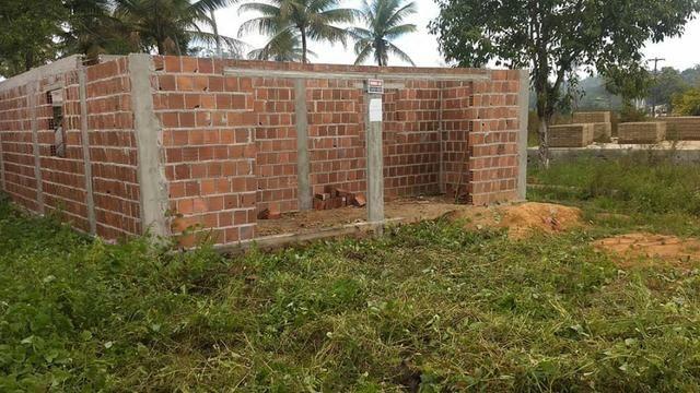 Terreno com uma casa em construção - Foto 4