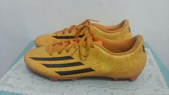 c0aefff5d8 Chuteira Adidas f5 amarela - Roupas e calçados - Sítio Morro Grande ...
