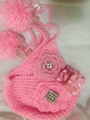 Touca de tricô - Artigos infantis - Pinheiros 4fc1b6d00ff