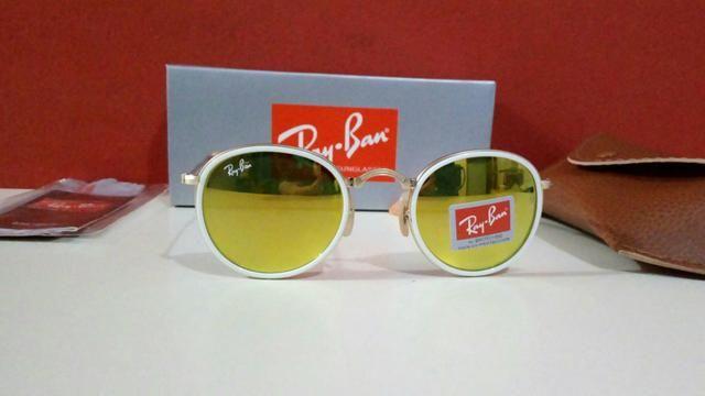 Óculos de sol Ray Ban Dobrável Feminino Novo - Bijouterias, relógios ... 3ae82c1e6a