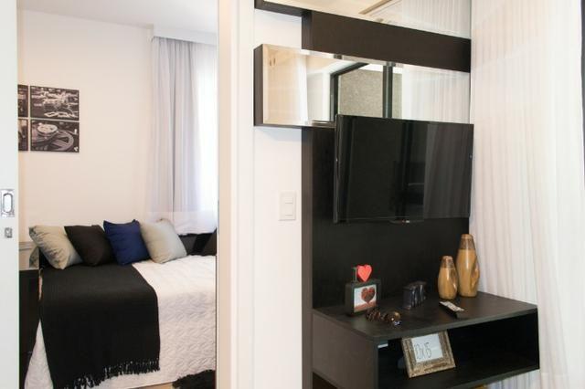 Apartamento Decorado 1 Dormitório No Mercês - Foto 4