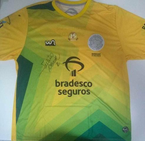 59585ee241 Camisa Oficial utilizada pelo Júlio César no Jogo das Estrelas 2018 ( Autografada)