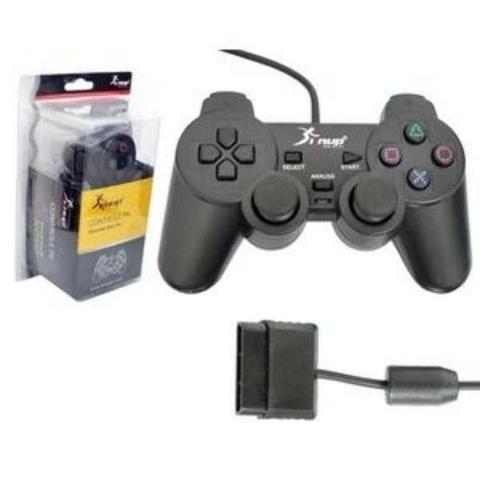 Joystick Playstation 2 Original Knup-(Loja na Cohab)-Somos a Melhor Loja de São Luis - Foto 2
