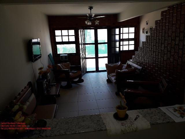 PC103 Linda Casa Duplex 2 Qtos, mobiliada, em Iguaba, Condomínio Lagoa Azul - Foto 4