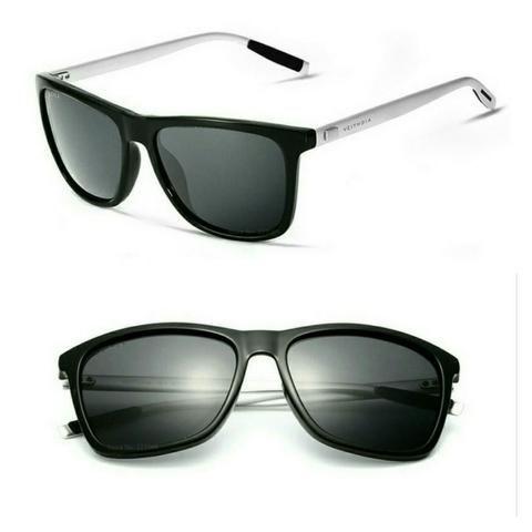 1406aa25e Óculos de Sol Polarizado Masculino Feminino Unisex Quadrado Veithdia ...