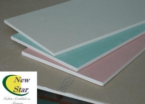 Placas de Drywall e Perfils