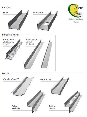 Placas de Drywall e Perfils - Foto 2