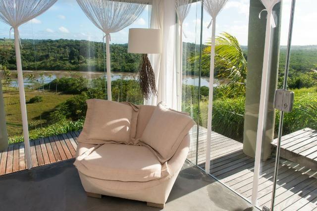 Casa de luxo 5 suites e wi-fi. 100 km de praia do Forte. Vista Paradisiaca - Foto 4