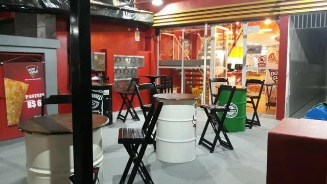 Pizzaria e hamburgueria temática com estrutura e cozinha impecável - Foto 7