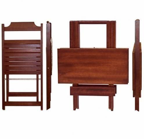 Mesas e cadeiras dobraveis - estabelecimentos comerciais e residencias - Foto 2