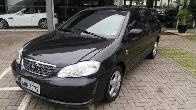 Corolla Brindado Completo automático 2005 valor 18.000 mil na troca considerado a tabela - Foto 9