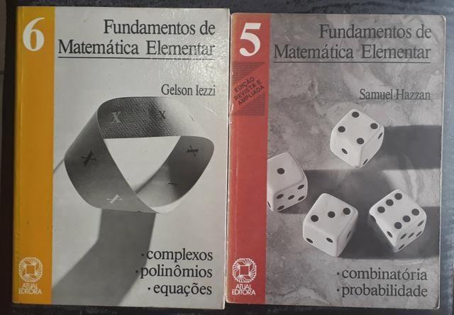 Fundamentos da Matemática Elementar 1, 2, 4, 5, 6 e 9 - Foto 3