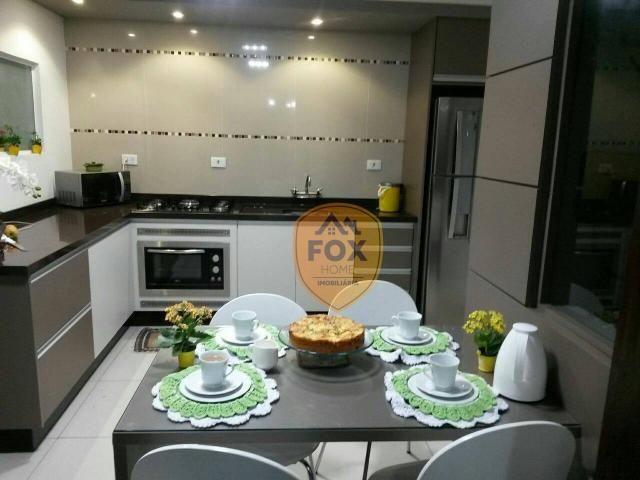 Sobrado com 3 dormitórios para alugar, 240 m² por R$ 5.500,00/mês - Cajuru - Curitiba/PR - Foto 3