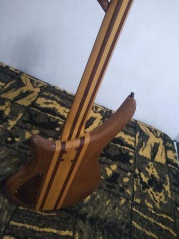 Baixo do luthier Wagner brito - Foto 5