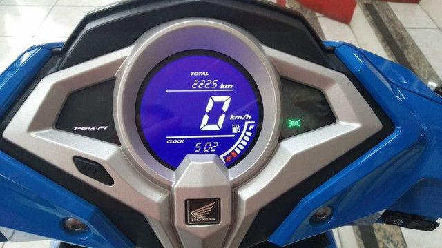 Honda Elite 125 2019/2019 em perfeito estado Automática Alvaro Motos - Foto 6