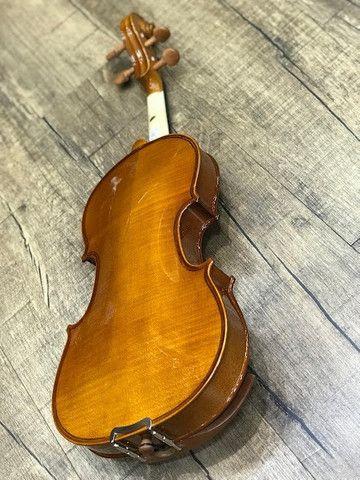 Violino 4/4 Eagle Ve441 Series limitada Caramelo Ccb tampo spruce completo - Foto 5