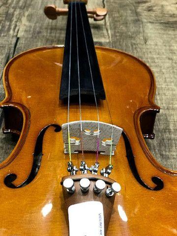 Violino 4/4 Eagle Ve441 Series limitada Caramelo Ccb tampo spruce completo - Foto 2