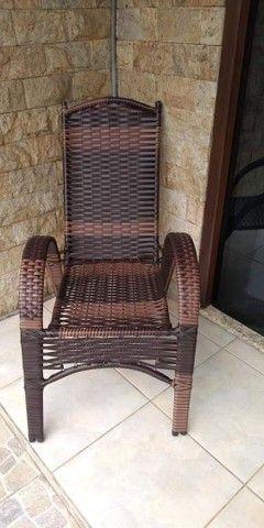 Cadeira Sofia de área e varandas  - Foto 3