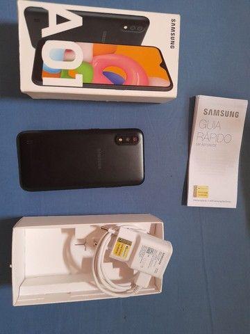 Vende-se celular Samsung A01 - Foto 2
