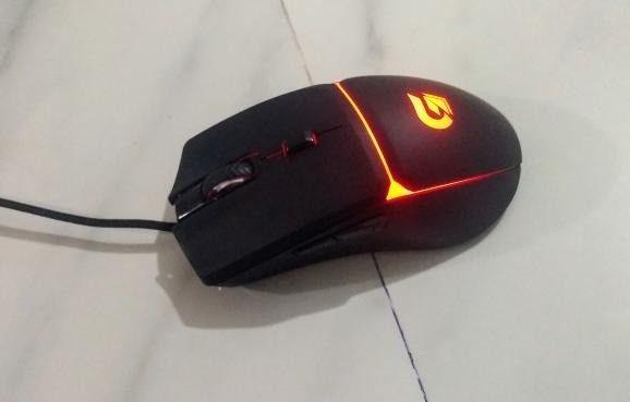 mouse gamer fortek g 7200 dpi 4 cores (seminovo) - Foto 4