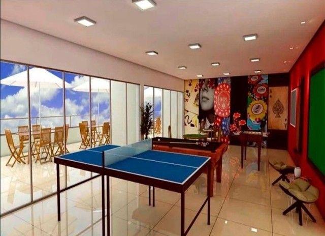 BR_LM - Lindo apartamento na beira mar de Casa Caiada com 95m² - Estação Marcos Freire - Foto 5