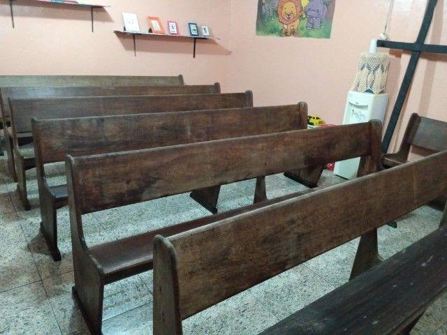 banco de madeira pura - Foto 2