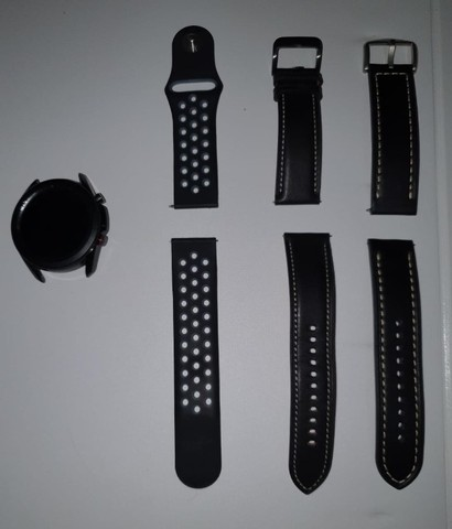 Smartwatch Samsung Galaxy Watch3 Preto 45mm LTE