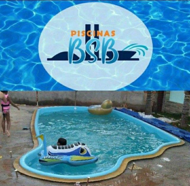 piscina de fibra instalada - Foto 2