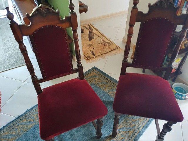 Jogo de Cadeiras Vintage