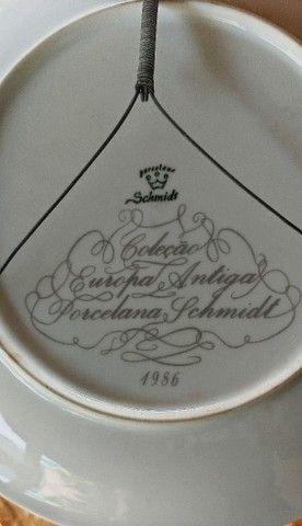 Pratos de porcelana pintado a mão - Foto 5