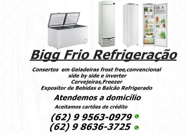Conserto de geladeira de todas as marcas e modelos