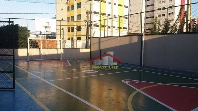 Apartamento com 3 dormitórios para alugar, 113 m² por R$ 1.800,00/mês - Fátima - Fortaleza - Foto 11