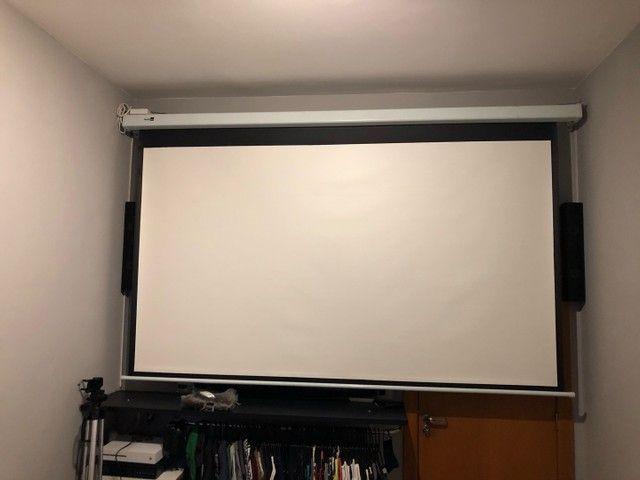 Kit projetor BenQ + Home Theater LG 5.1 blu-ray - Foto 4