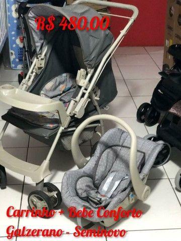 Carrinho com bebe Conforto Galzerano C
