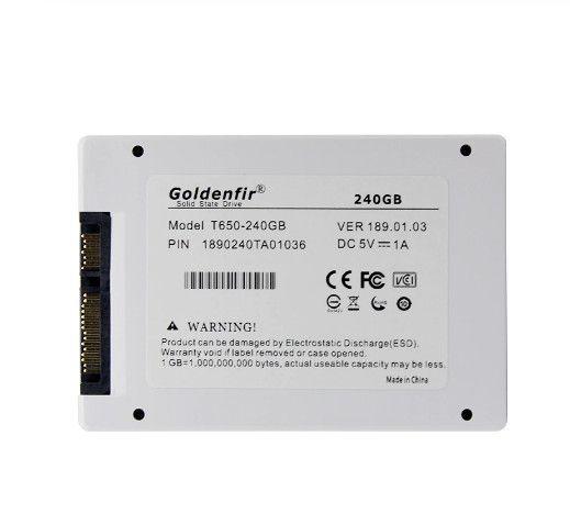 SSD Goldenfir 256GB - até 500/500 MB/s - com garantia e NF - Foto 2