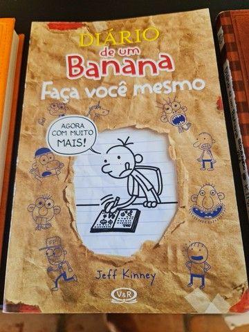 Box diário de um banana + 3 livros da coleção  - Foto 4