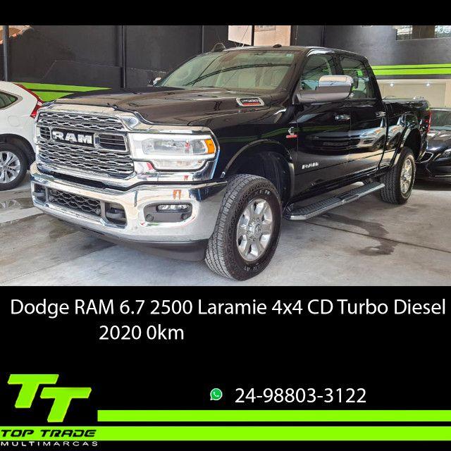 Dodge RAM 2500 Laramie 6.7 TDI Cd 4x4 Diesel 2020 0km - Foto 2