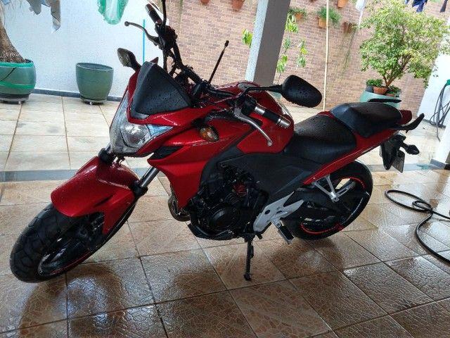 MOTO CB500  DE GARAGEM