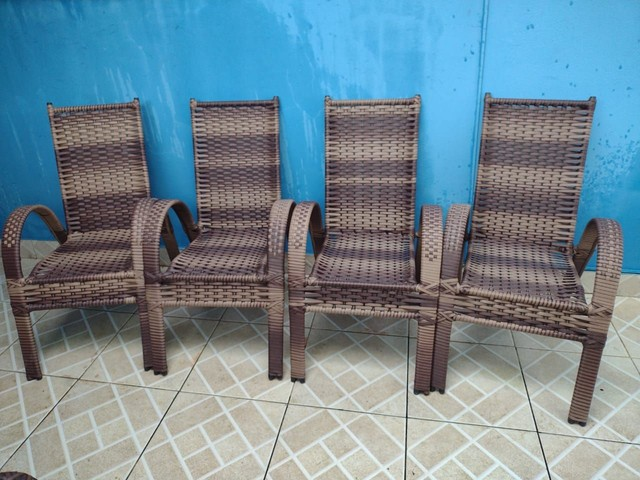 Cadeira Sofia de área e varandas